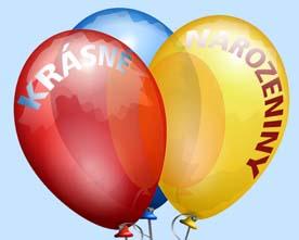Obrázek různobarevných balónků