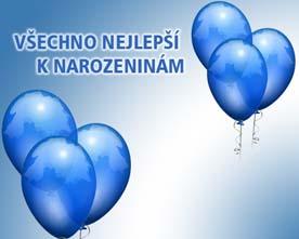 Obrázek modrých balónků