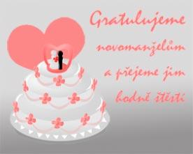 Obrázek dortu růžový