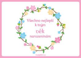 přání k narozeninám k vytisknutí MaxiPřání.cz   obrázková přání k narozeninám, pohlednice, blahopřání přání k narozeninám k vytisknutí
