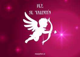 Svatý Valentýn přání anděl