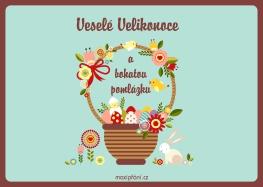 Přání k Velikonocům - Kraslice