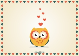 Přání z lásky sova