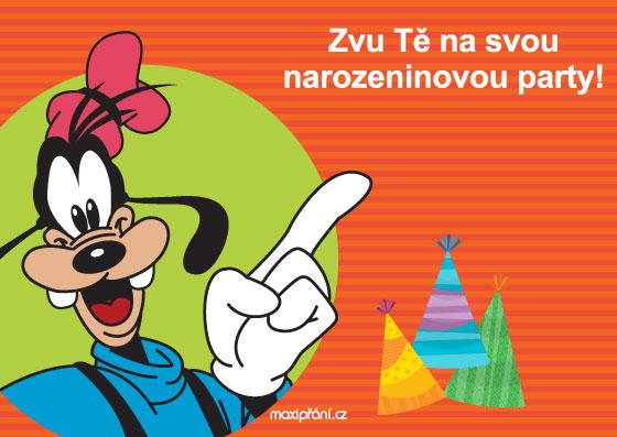 dětská pozvánka na narozeniny ke stažení MaxiPřání.cz   obrázkové pozvánky na narozeniny, vzory pozvánek na  dětská pozvánka na narozeniny ke stažení