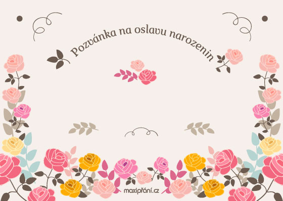 obrázky na pozvánku k narozeninám MaxiPřání.cz   obrázkové pozvánky na narozeniny, vzory pozvánek na  obrázky na pozvánku k narozeninám