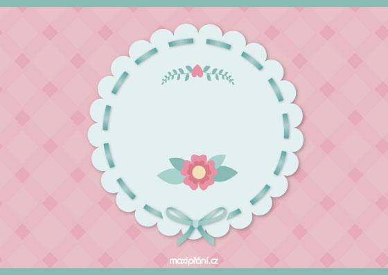 Přání k narozeninám podle věku - květina - přední strana